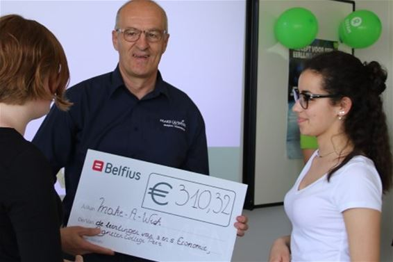 310 euro voor Make-A-Wish - Peer
