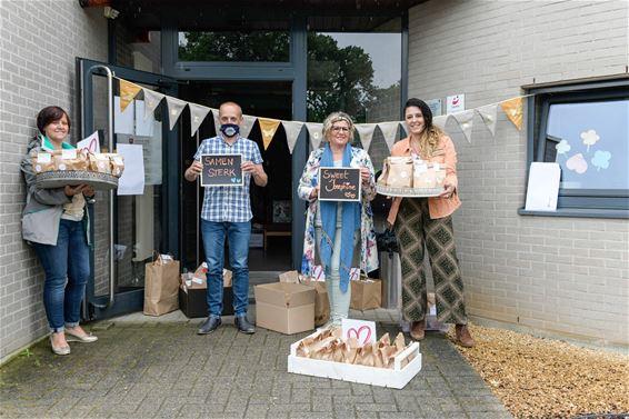 500 wafels voor 't Weyerke in Heusden-Zolder