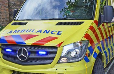 Auto gekanteld na botsing in Wijchmaal