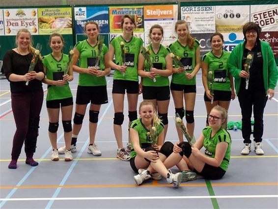 AVOC-dames Kadetten A kampioen