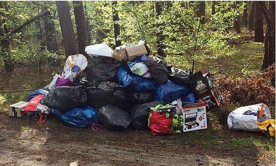 'Belgisch' afval gedumpt in Budel