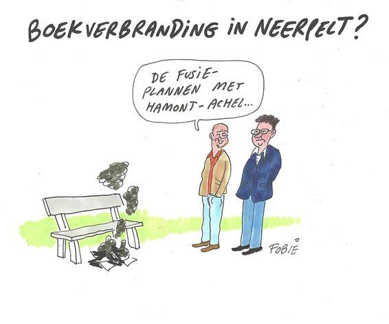 Boekverbranding in Neerpelt