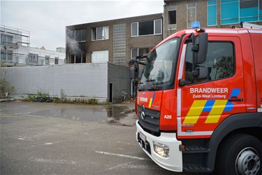 Beringen - Brand in leegstaand appartement
