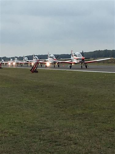 Burenkijkdag op de vliegbasis