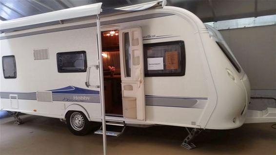 Caravan gestolen in Kleine Brogel