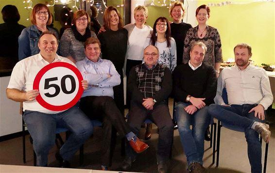 De 50-jarigen van Hechtel bijeen