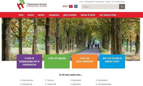 De gemeentelijke website is vernieuwd