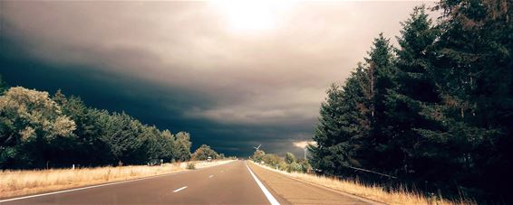 Donderwolken boven Lommel