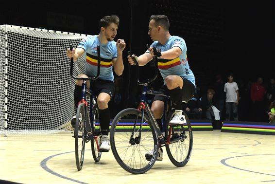Eerste punt voor België op WK Cyclobal