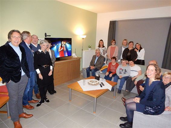 Groot tv-toestel voor bewoners 't Weyerke
