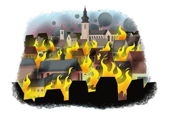 'Grote Brand van Tongeren in 1677' in Praetorium