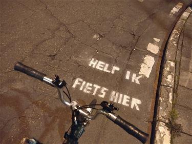 Help, ik fiets hier!