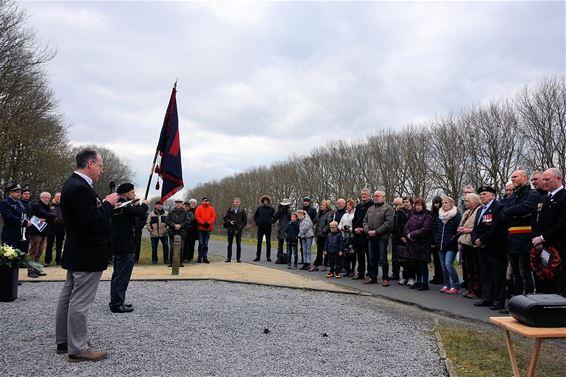 Herdenking van omgekomen Britse militairen