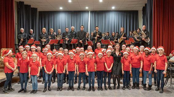 Kerstconcert van de Lilse fanfare