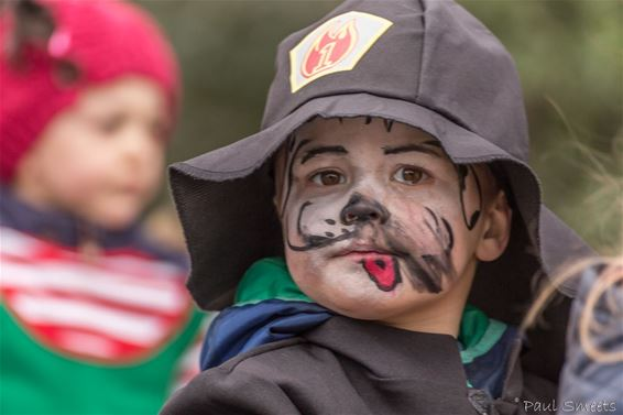 Kindercarnaval in het Lindel