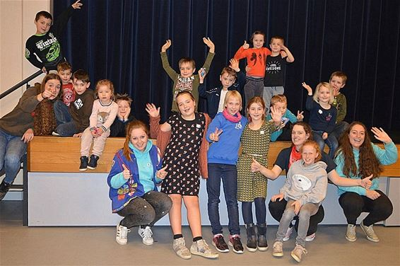 Kindernamiddag tijdens Sint-Theunisfeest