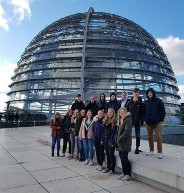 Leerlingen Agnetencollege bezoeken Berlijn