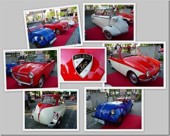 'Micro-cars' op de rode loper