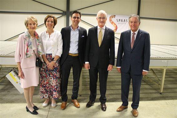 Minister-president Bourgeois bezocht Spaas Kaarsen