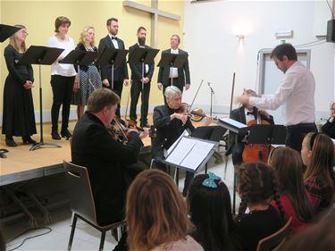 Muzikale 'Toast Literair' door Davidsfonds Koersel