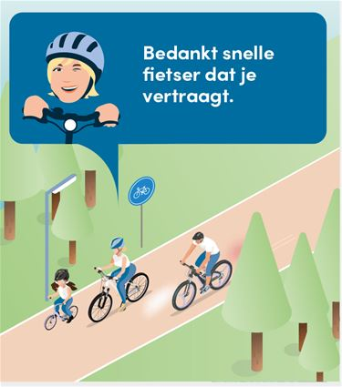 Nieuwe campagne rond fietsveiligheid