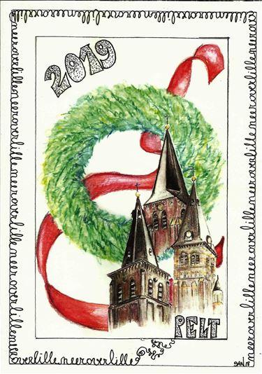 Nieuwjaarsbrief in Lille