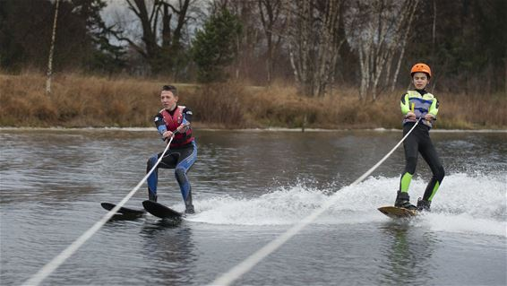 Ook in de winter is er watersport - Lommel