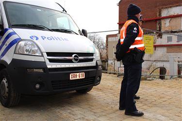 Politie voert actie tegen grenscriminaliteit