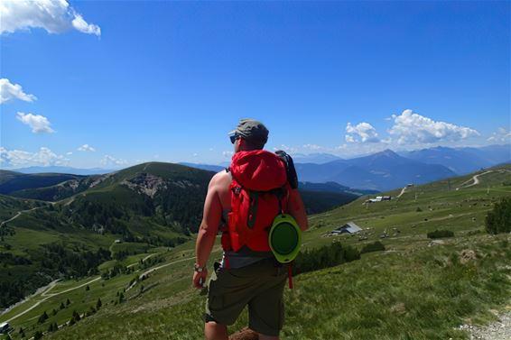 Sander Cools in Zwitserland