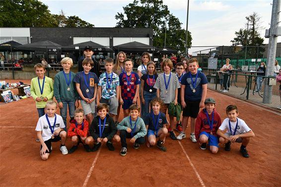 Schitterend clubkampioenschap Tennis Paal