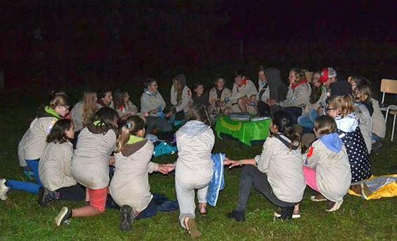 Scoutskamp was de moeite