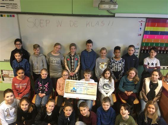 'Soep in de klas' voor Sint-Vincentius