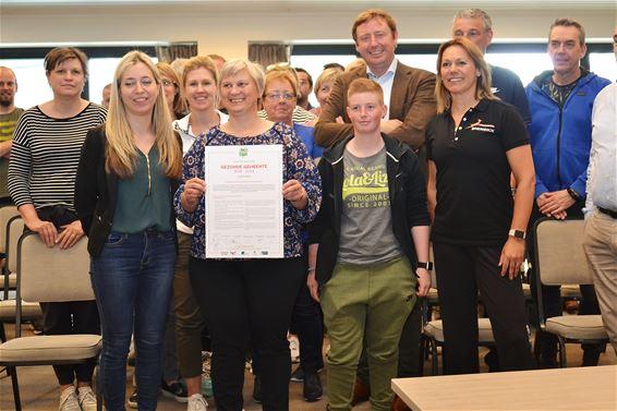 Stad ondertekent charter 'Gezonde Gemeente'