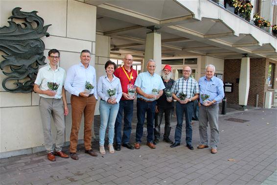 Stad steunt plantjesverkoop Kom op tegen kanker
