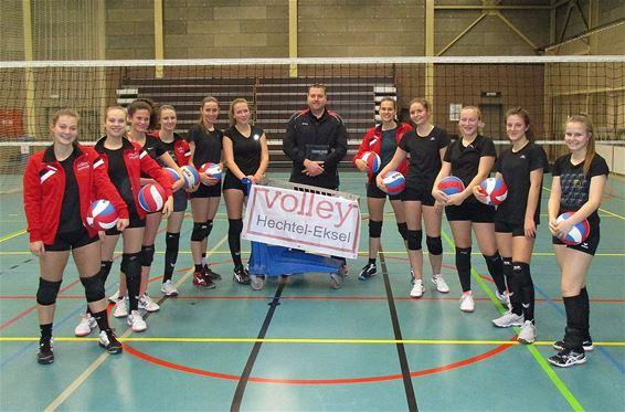 U19-dames HE-VOC in halve finale beker