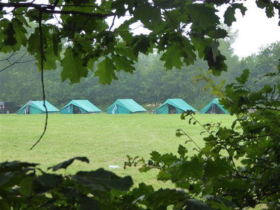 Vele jeugdverenigingen op kamp