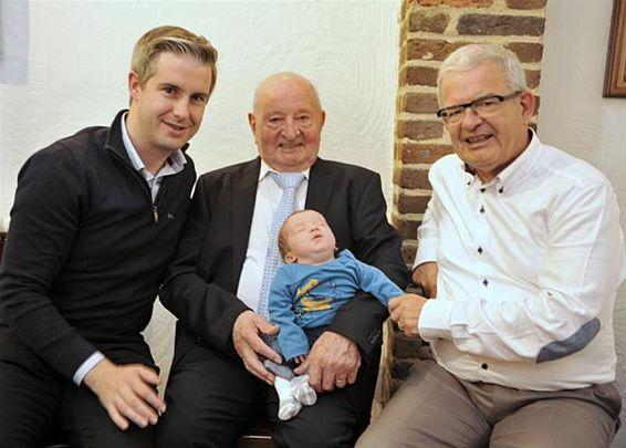 Vier generaties bij de familie Bloemen