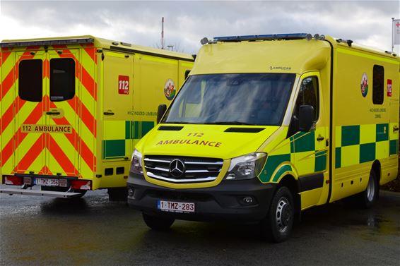 Vijf nieuwe ambulances Hulpverleningszone